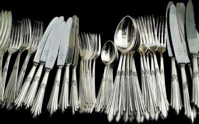 Sølvtøj – brugt, men som nyt