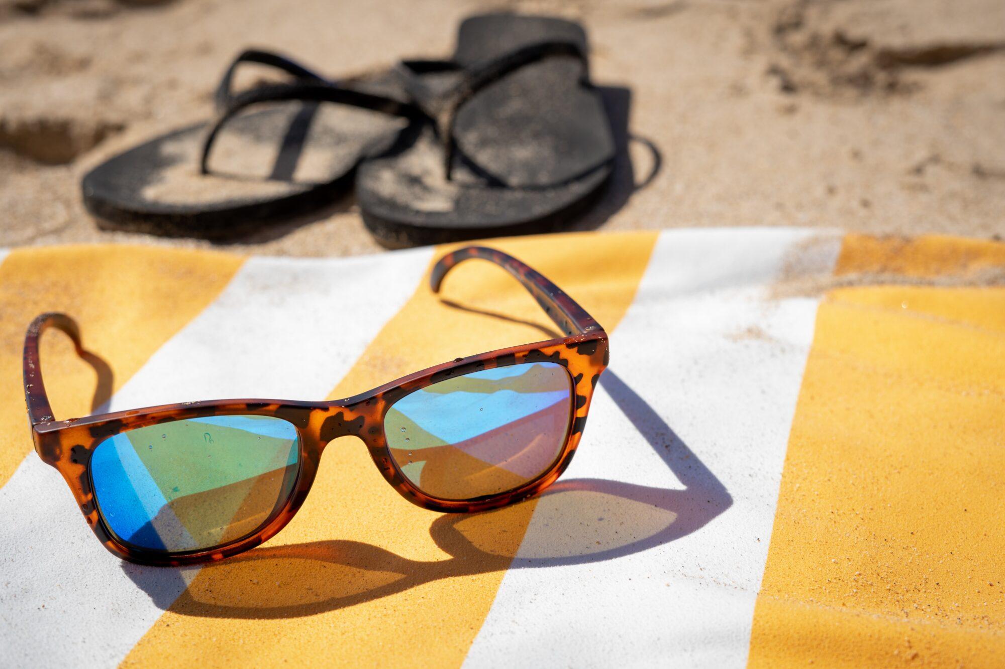 Bliv klar til ferie i syden med et lækkert beach towel